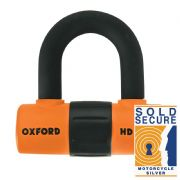 Oxford HD Max Disc Lock Orange LK312